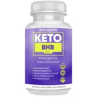 Keto BHB Real Keto Pills Advanced Weight Loss Instant Keto - 60 Capsules