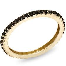 Black Diamond Fine Rings