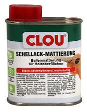 Clou Schellack Mattierung blond 125ml Möbellack Innenlack Holzlack