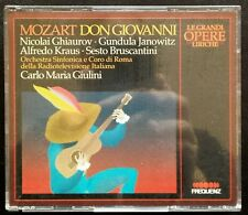 Wolfgang Amadeus Mozart, Don Giovanni, Ed. Frequenz, 1990