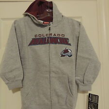 NHL Reebok Colorado Avalanche Hooded Jacket New Youth L (14/16)