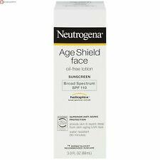 Neutrogena Age Shield Face Oil-Free Lotion Sunscreen Broad Spectrum SPF 110,3 oz