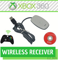 USB Wireless Receiver Game Controller Adapter for Microsoft Xbox 360 Windows PC
