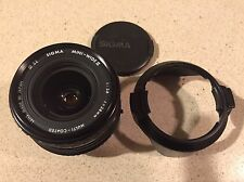 Sigma Mini Wide II 28mm f/2.8 Manual Focus Macro Lens Pentax Mount & Good