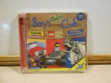 Boys Only Club 3 in 1 PC Game Crayola Vehicle Voyages/Lego Racers COMPLETE