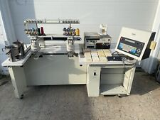 Barudan Beat At-102-Uf 10 Needle 2 Head Commercial Embroidery Machine & 12 Fonts
