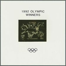**92 GUYANA - MNH - Sports - Olympics - GOLD WITH GOLD OVP !