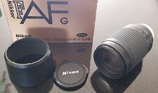Nikon Nikkor AF G 70-300mm f/4.0-5.6 AF G Lens BOXED