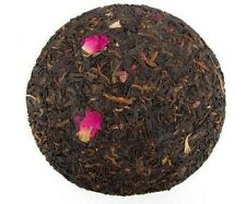 Rose flower mixed with Pu erh tea cake 200 grams