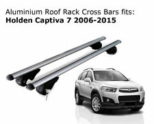 Aluminium Roof Rack Cross Bars fits Holden Captiva 7 with roof rails 2006-2015