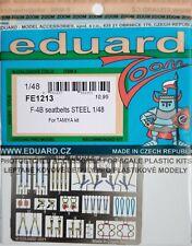 Eduard 1/48 FE1213 Colour Steel Etch Seatbelts - Tamiya F-4B Phantom  kit