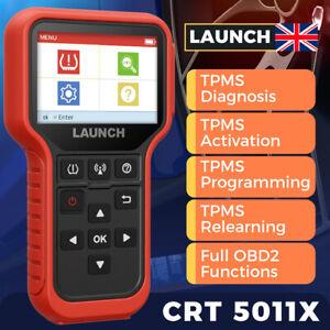 LAUNCH X431 CRT5011X TPMS Tire Pressure Sensor Programming Activate Reset Tool