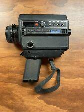 Elmo Super 8 Sound 3000SL MACRO Movie Camera Japan - Working Condition!!