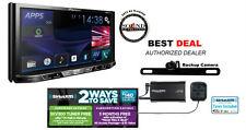 "Pioneer AVH-X490BS 7"" DVD Bluetooth SiriusXM Satellite Radio Backup Rear Camera"
