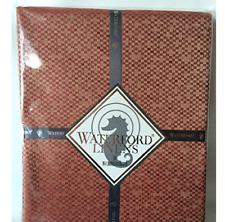Waterford Elegant Tablecloth - Hamilton- Ruby 90 Round 100% Polyester
