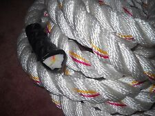 WORKOUT Rope 1 1/2 x 12 Polydacron GYM Climbing TWO ROPES  Shipped FREE