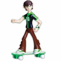 Ben 10 Omniverse 10cm Alien Collection 36021 Ben Figure with Skateboard