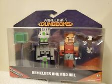 Mojan Mattel Minecraft Dungeons Namless One and Hal Includes battle accessories