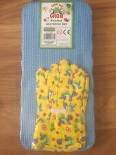 New Gardening kneeler and gloves set 3 years +