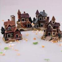 Fairy Garden Miniature Villa House Micro Landscape Ornament Decor Figurine Craft