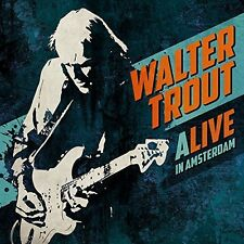 WALTER TROUT ALIVE IN AMSTERDAM 2CD ALBUM SET (Released June 17 2016)