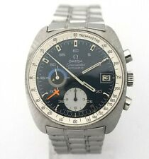 OMEGA Seamaster ref.176.007 Vintage 1970s Automatic Chronograph cal.1040 BLUE
