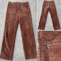 Vintage New Man Corduroy Pants 30/36 Measure 31/29 1/2 A Norma Di Legge