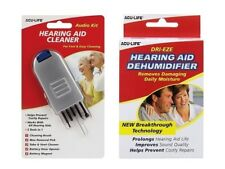 Acu-life Hearing Aid Complete Set Audio Cleaner Cleaning Kit Tool Dehumidifier