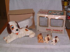 ALPS VINTAGE BATTERY OPERATED FOUR (4) DOG FAMILY. FULLY WORKING COMPLETE W/BOX!