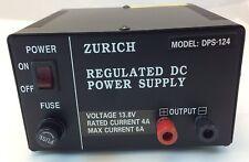 1 PIECE - ZURICH - AC POWER SUPPLY 13.8V REGULATED 6 AMP MAX WORKSHOP  # ZD
