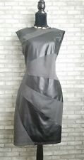 NWT Spense Fabric Block Bodycon Knee Length Fitted Dress Size 10