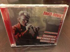 David Bowie Christiane F. Wir Kinder Com Bahnhof Zoo CD Sealed