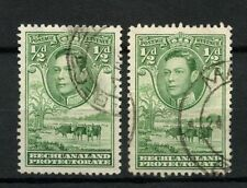 Mint Hinged Bechuanaland Protectorate Stamps (Pre-1966)