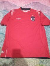 2004 2006 EURO Umbro Away England Football Mens Soccer Jersey Shirt Adults