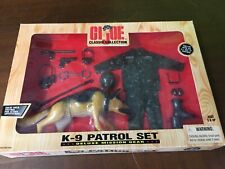 GI JOE CLASSIC COLLECTION K-9 PATROL SET DELUXE MISSION GEAR   1998 SEALED MIB!