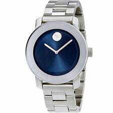 Movado 3600396 Unisex Bold Blue Quartz Watch