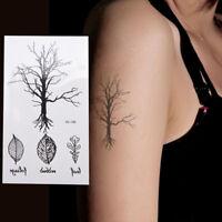 Leaf Tree Temporary Tattoos Body Arm Leg Waterproof Flash Tattoo Stickers FO