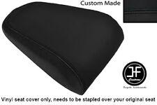 BLACK VINYL CUSTOM MADE FITS YAMAHA MT 03 06-13 REAR PILLION SEAT COVER ONLY