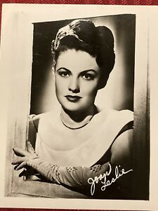 Joan Leslie 4x5 Publicity Photo Actress High Sierra Yankee Doodle Dandy