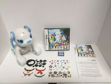 Nintendo DS Game & Wappydog Robotic Interactive Toy w/Stickers