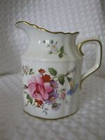 Vintage Royal Crown Derby Posies Creamer Small Mini Pitcher Jug Floral England