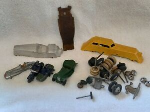 Dinky + others pre/post war parts/spares for projects (see photos)
