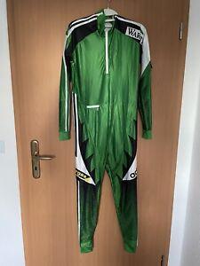 Adidas Skilauf Anzug Langlauf Biathlon Wintersport DSV Damen Gr. M grün