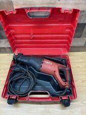Hilti Wsr 1250 Pe Heavy Duty Demolition Reciprocating Saw With Hard Case Used