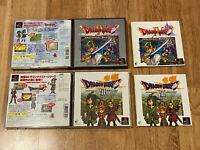 Dragon Quest IV+VII 4+7 JAPAN Ver PS1 PlayStation 1 set