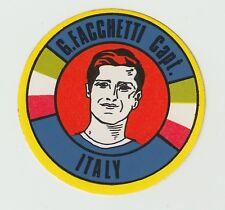 BAB Products 1970 Unused Sticker Giacinto Facchetti Italy