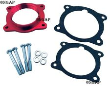 Red Billet Throttle Body Spacer Fit 08-13 Cadillac CTS 3.0L 3.6L & 13 ATS V6