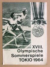 XVIII. Olympische Sommerspiele Tokio 1964 (DDR-Filmprogramm 114/66)
