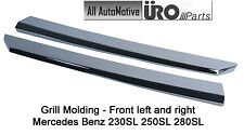 New Mercedes-Benz Front Grill Molding (L&R) - Chrome fits 230SL 250SL 280SL W113