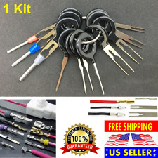 11 Connector Pin Extractor Kit Terminal Removal Tool Car Electrical Wiring Crimp
